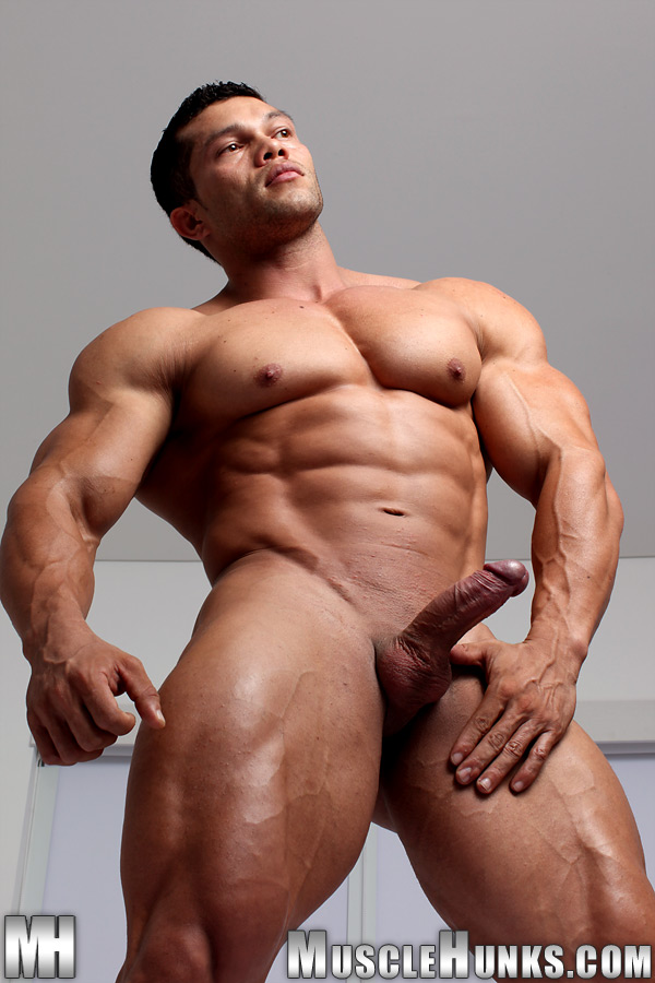 image Muscle latino pounds his girlfriend good