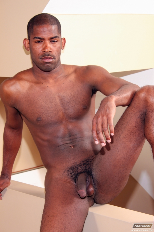 Black fetish gay man porn