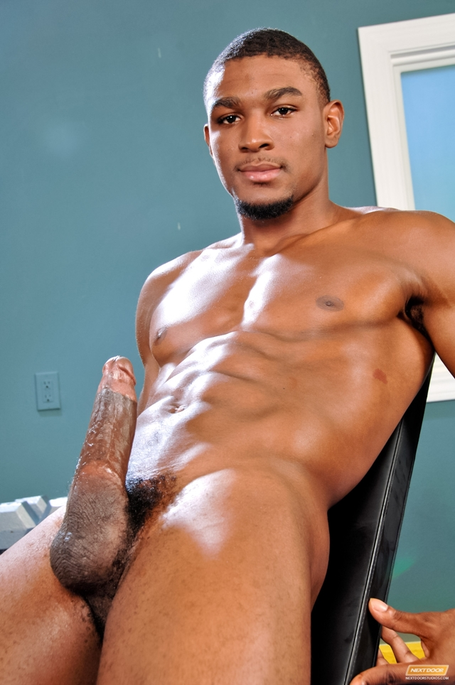 Hot black american men