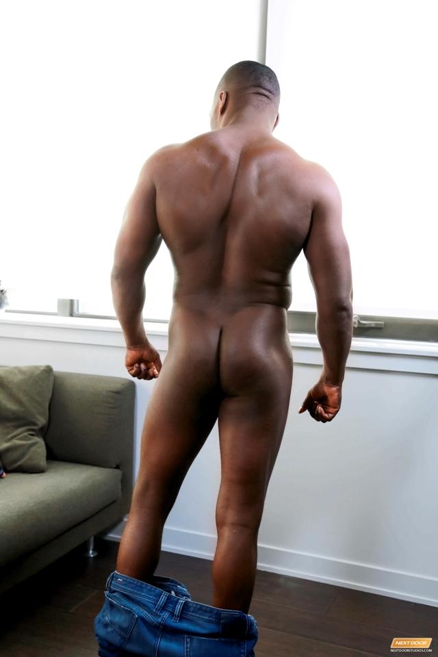 Ebony naked male