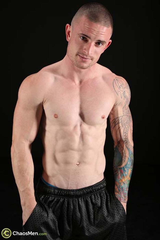 Chaos-Men-shaved-head-tattoos-Palmer-US-Marine-military-Fireman-Policeman-guy-thick-cock-006-male-tube-red-tube-gallery-photo