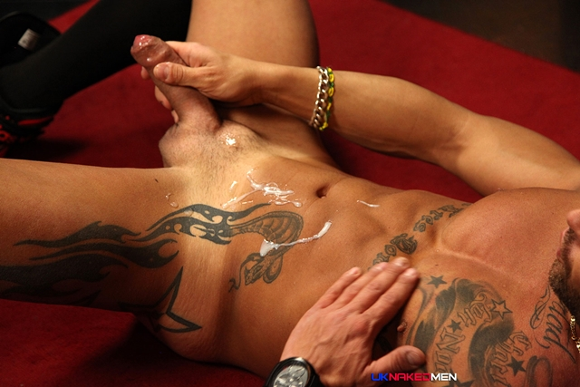 UKNakedMen-Spanish-tattooed-hunk-Frank-Valencia-exhibitionist-uncut-cock-ripped-body-tattoos-014-male-tube-red-tube-gallery-photo