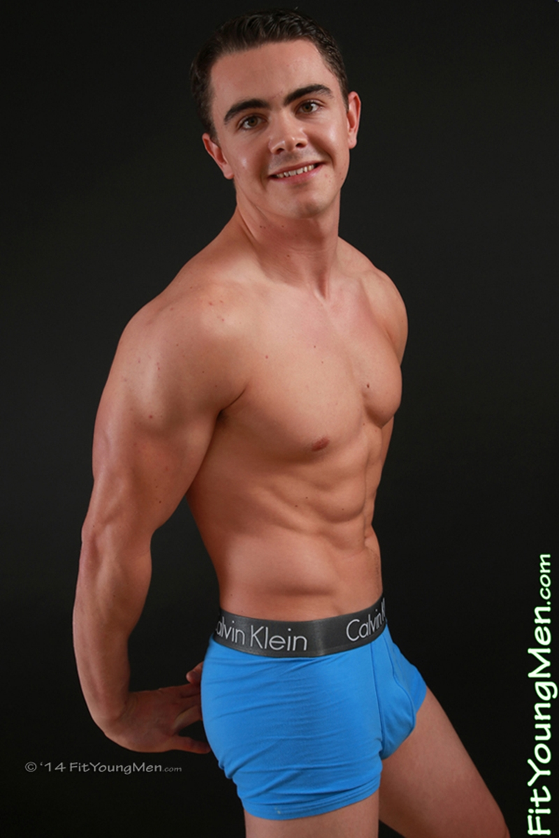 fit young men  Logan Hardy