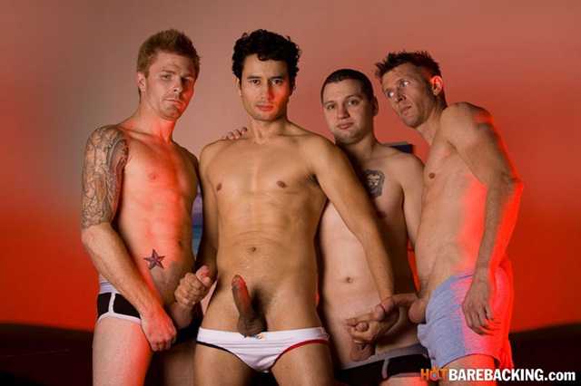 Gabriel D'Alessandro, Kirby Thomas, Zach O' Mally and Chad Brooks