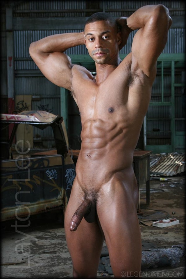 Men beautiful nude black