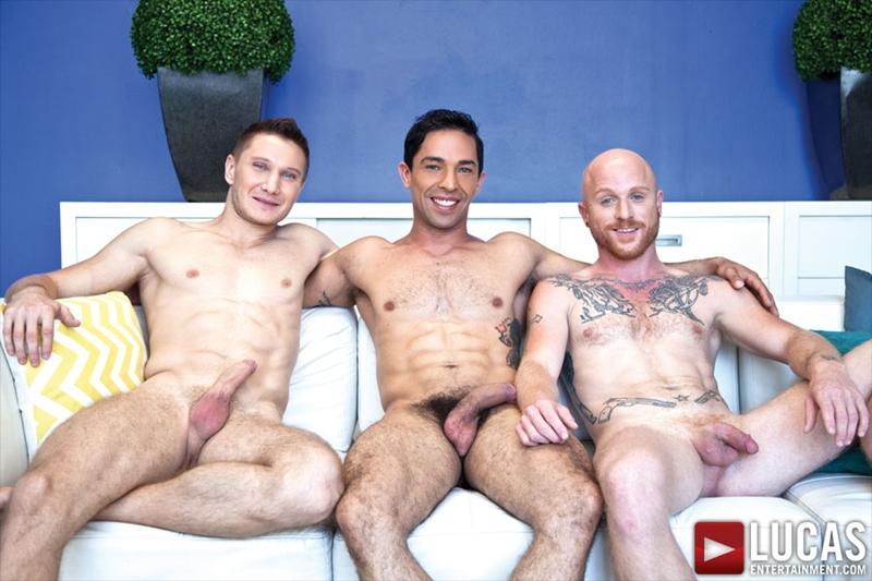 Comrad Blu, Mikoah Kan and Brock Rustin