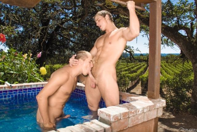в бассейне гей фото