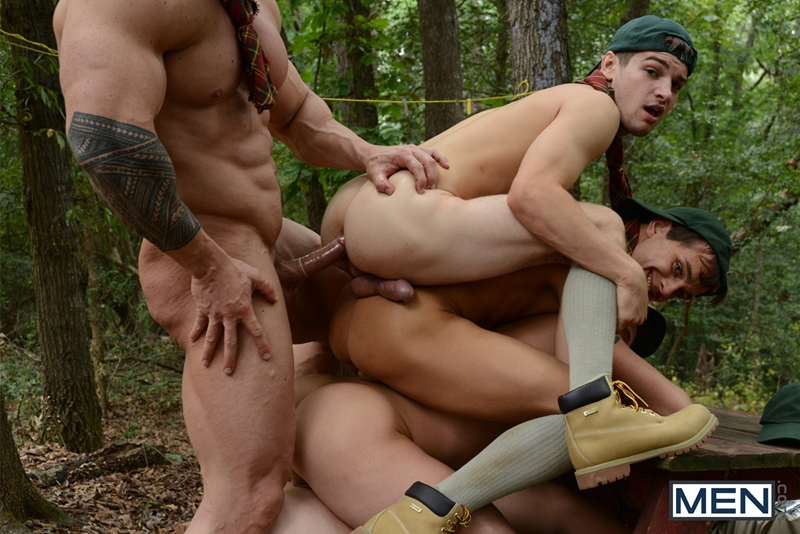men  CK Steel, Jack Radley, Johnny Rapid, Zac Stevens and Zeb Atlas