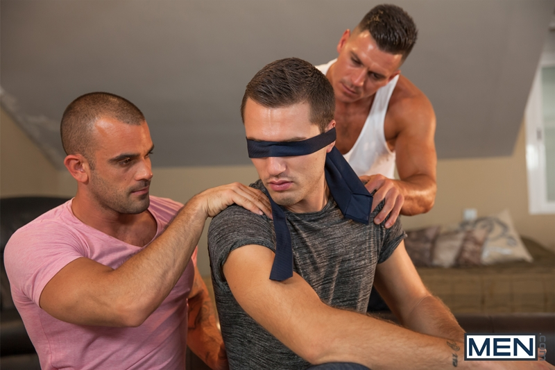 men  Damien Crosse, Paddy OBrian and Theo Ford