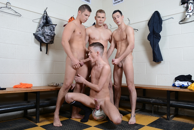 Skylar Blu, Luke Desmond and Jordan Fox