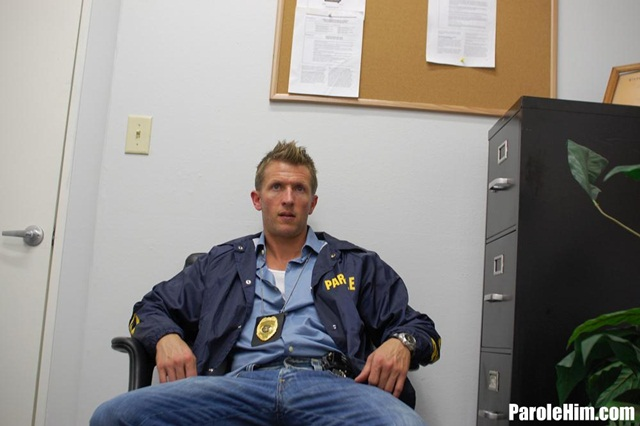 Rafeal Mendoza takes a 9 inch Parole Officer's cock – did he finally submit?