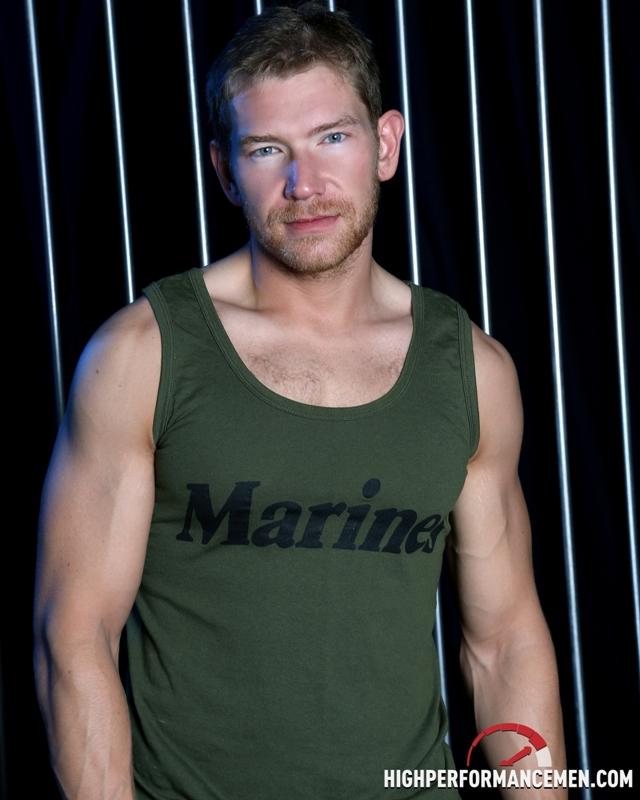 Gay sub Alex Adams bottoms for Joe Parker at High Performance Men