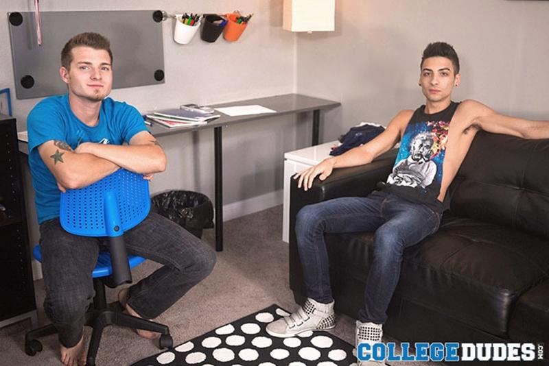 college dudes  Roman Daniels and Tristan Stiles