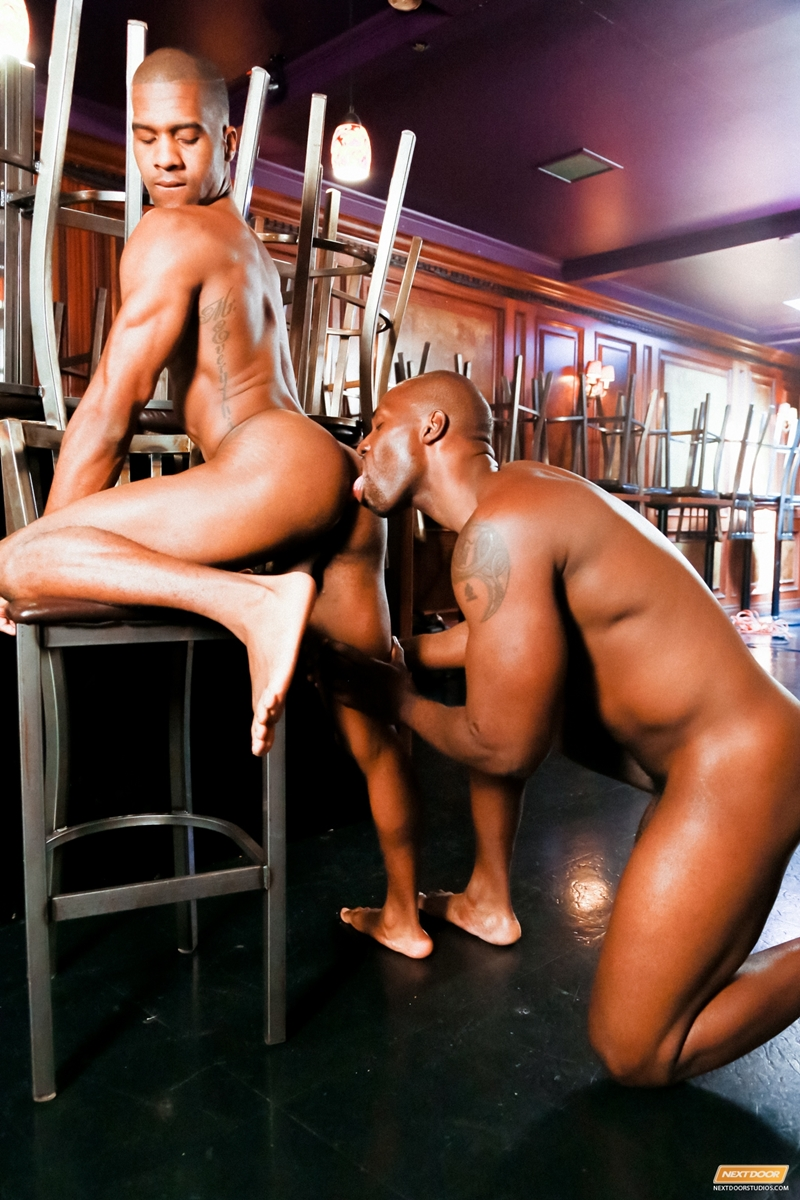 Ebony gay male porn