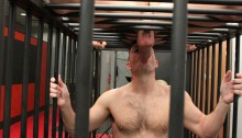 Rocco Steele loves his bad boys especially when caged like Nick Tiano