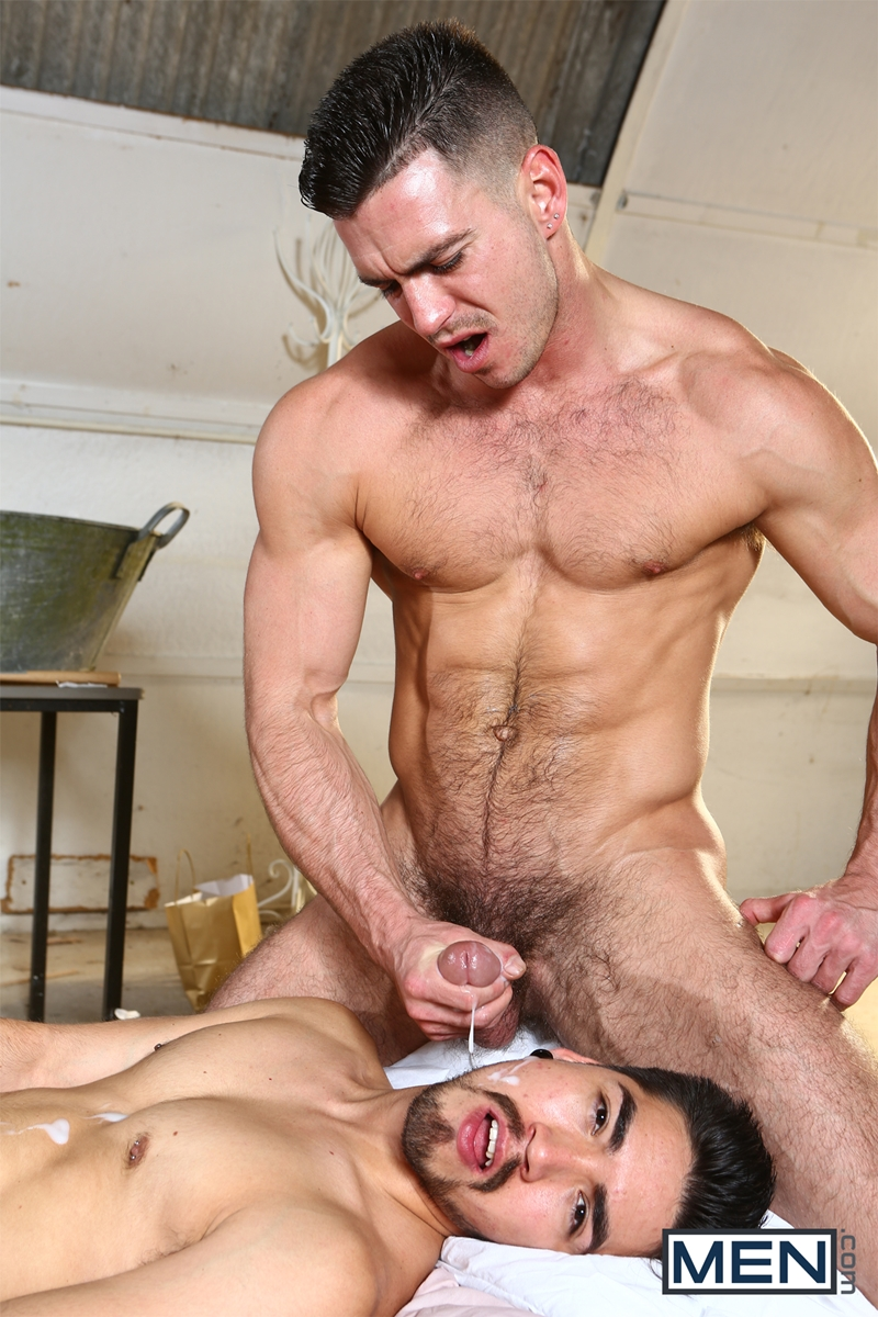 Horny gays hot cock sucking and barebacking 6