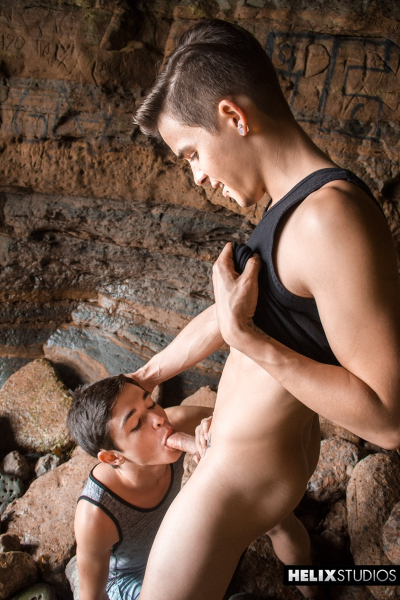 gay brother kissing