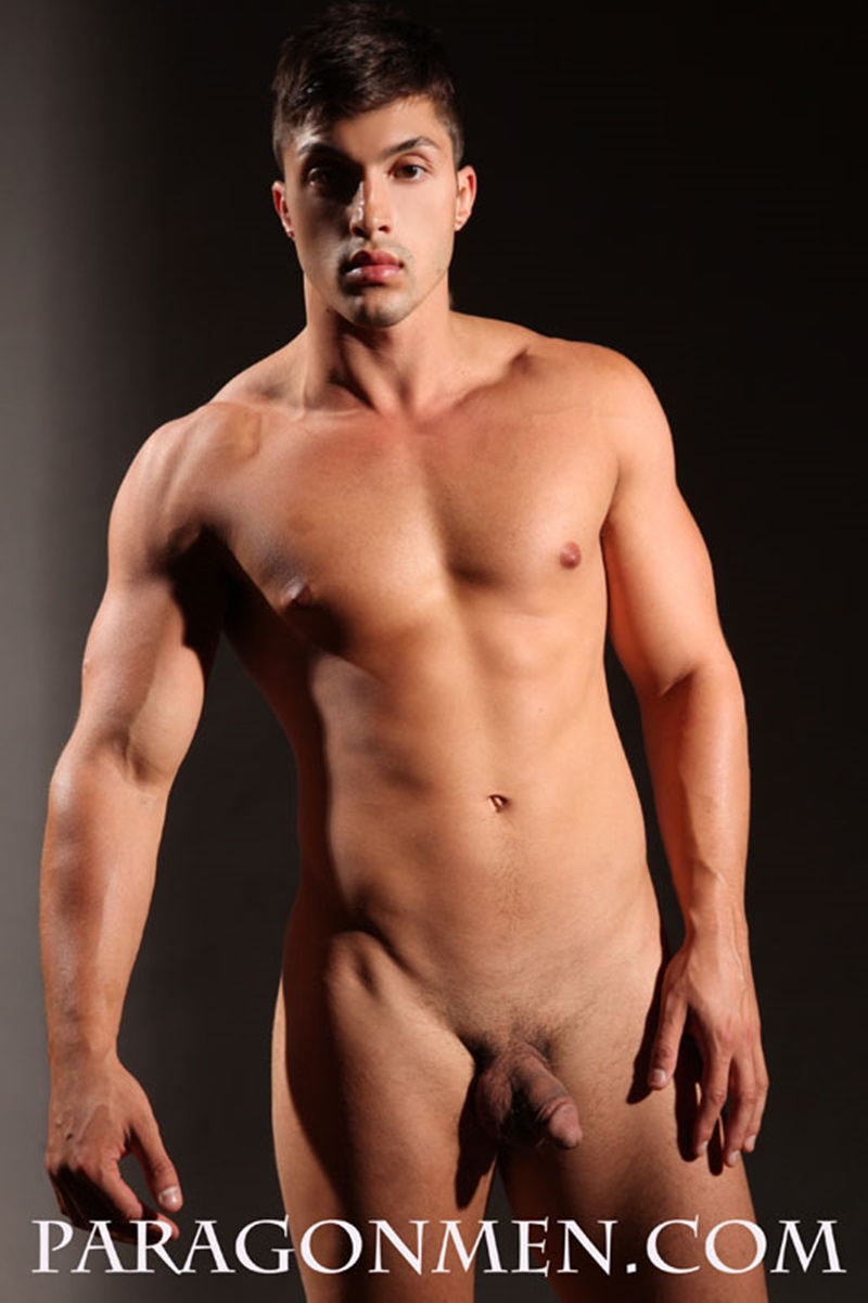Paragon Men Gio Shows Off His Ripped Muscle Body And Huge -4684