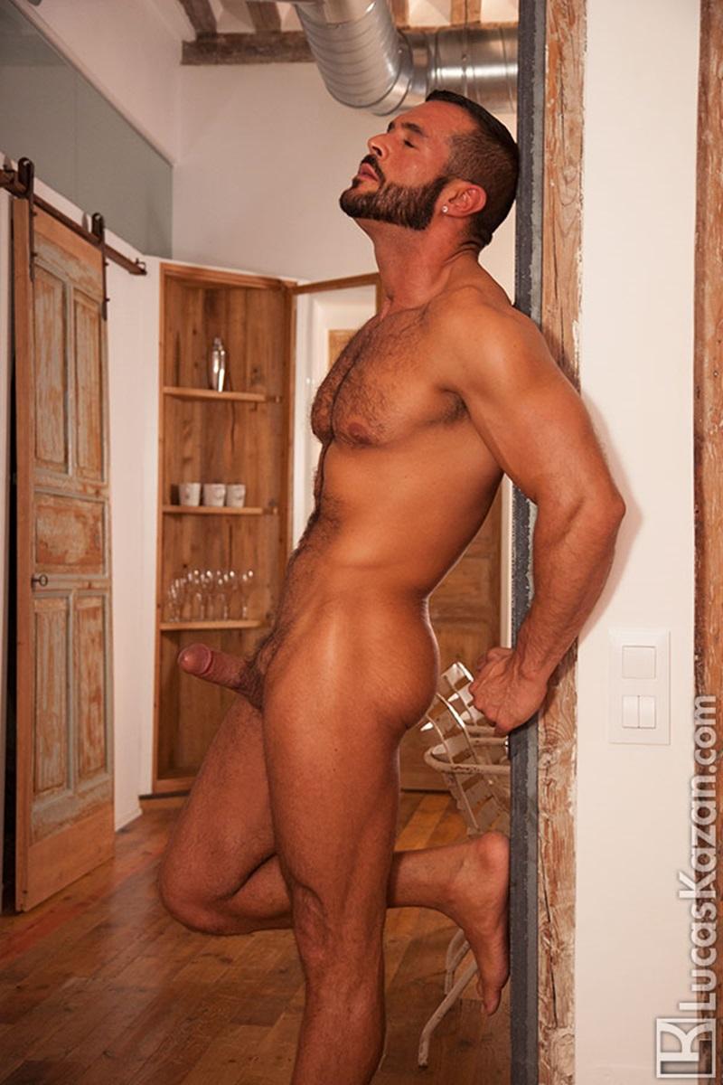 Swarthy Hairy Chested Spaniard Denis Vega  Naked Men Sex Pics-4616