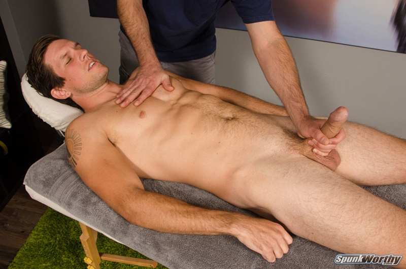 Spunkworthy Rich is back for a hands on happy ending massage