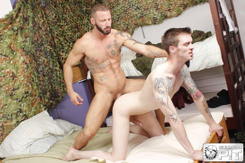 Antonio Miracle takes AJ Alexander's entire giant dick down to the balls
