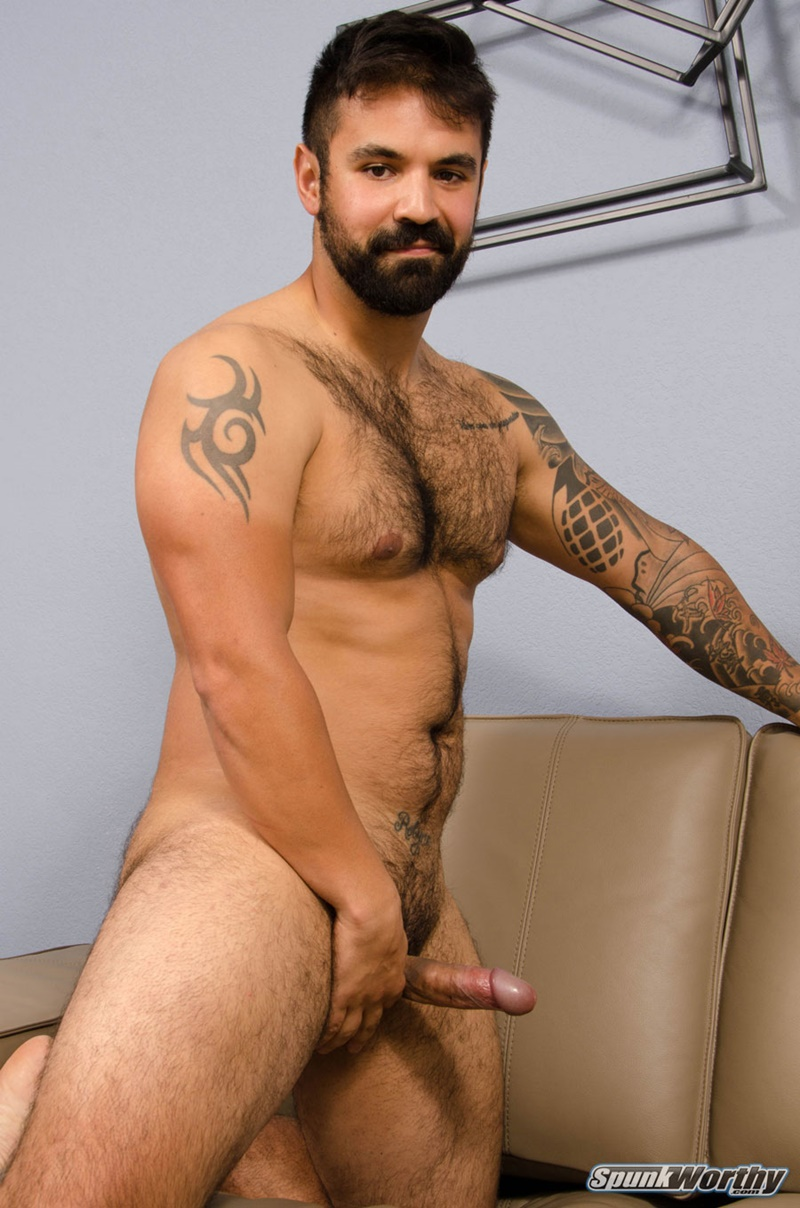 Spunkworthy-hairy-chest-hunk-tattoo-Freddy-military-guy-jerking-shaved-men-pubes-big-uncut-cock-thick-cum-load-orgasm-jizz-014-gay-porn-sex-gallery-pics-video-photo