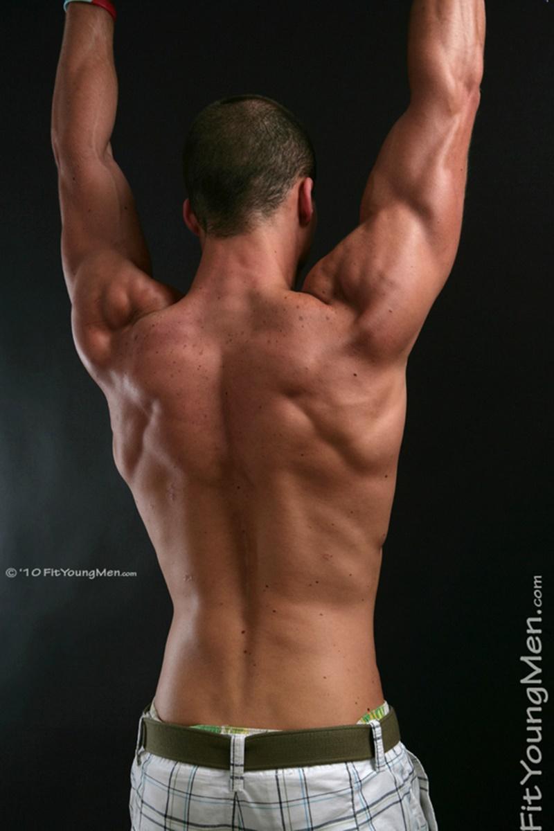 Mike Buffalari  Big Muscle Bodybuilder  Naked Men Pics -4446