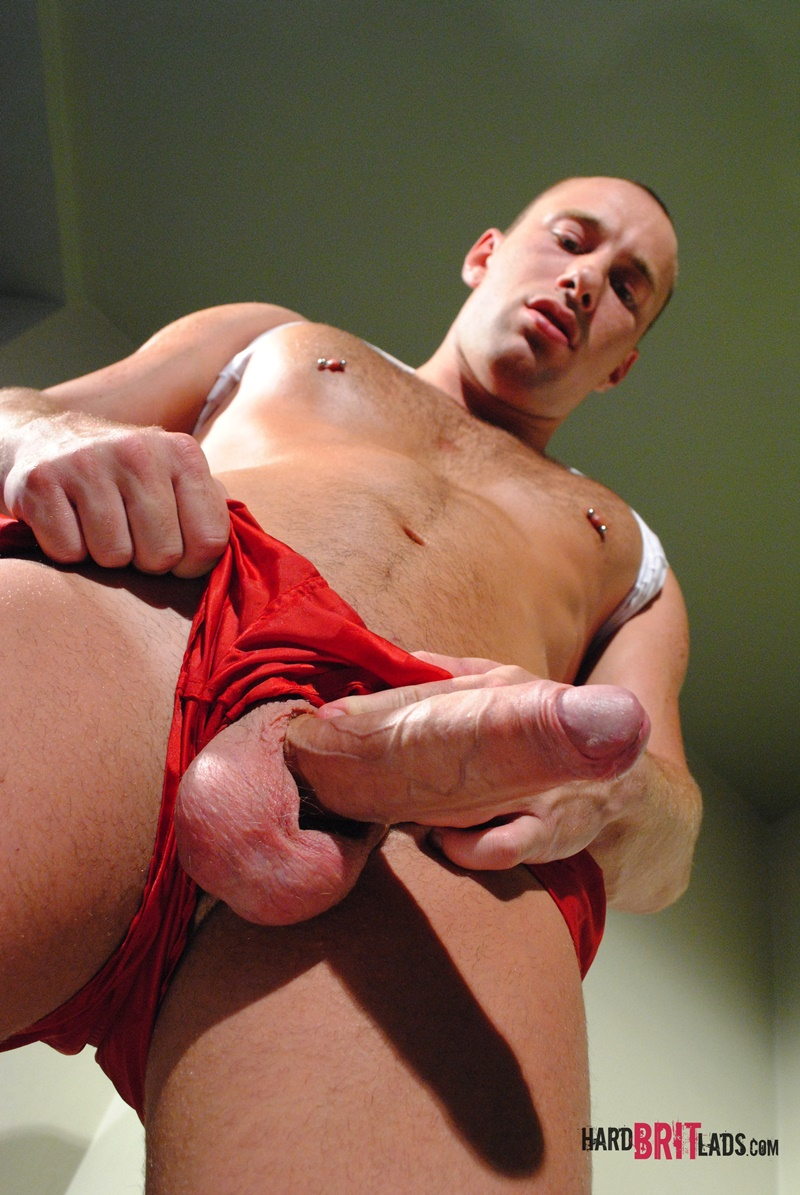 HardBritLads-Tall-sexy-skinhead-Edward-Fox-ripped-six-pack-abs-huge-uncut-9-inch-cock-red-sports-shorts-foreskin-jerking-shaved-head-009-gay-porn-sex-gallery-pics-video-photo