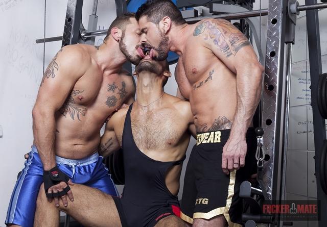 fucker mate  Alejandro Dumas, Antonio Miracle and Mario Domenech