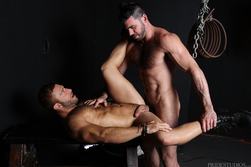high performance men  JR Bronson and Billy Santoro