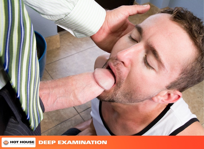 Colt Rivers' ass adapts to the stretching size of Rocco Steele's thick cock