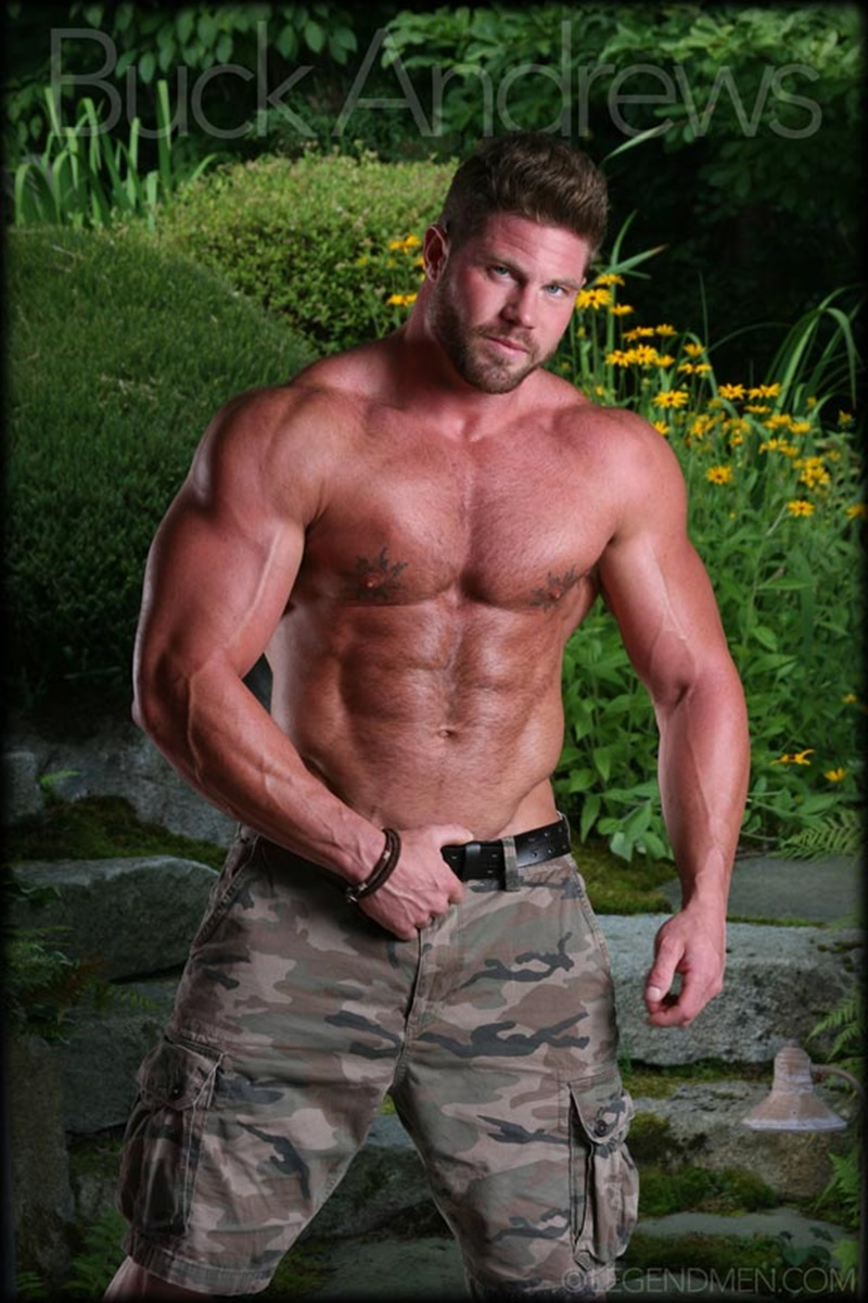 Massive muscle dick ike andrews