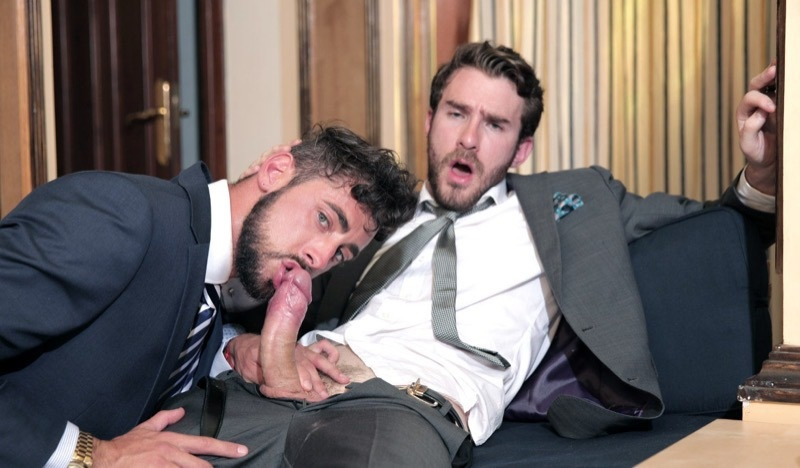 Men at Play wrong place, right time Philip Zyos fucks Massimo Piano's tight muscle ass