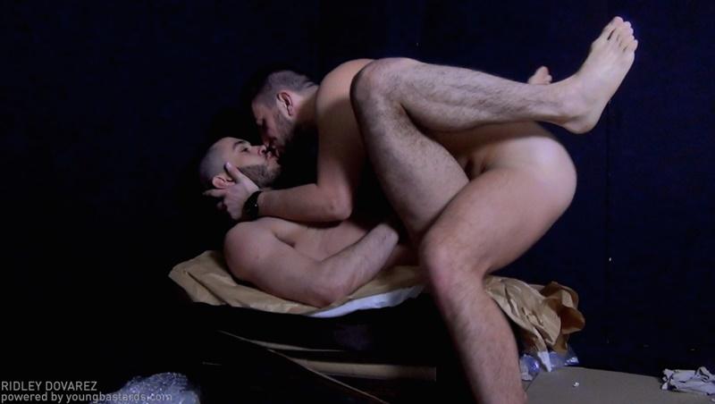 Young Bastards Mathieu Ferhati, Marc Humper and Jordan Fox hardcore ass fucking threesome