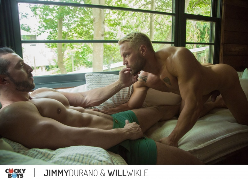 Jimmy Durano fucks Will Wikle's tight bubble butt ass
