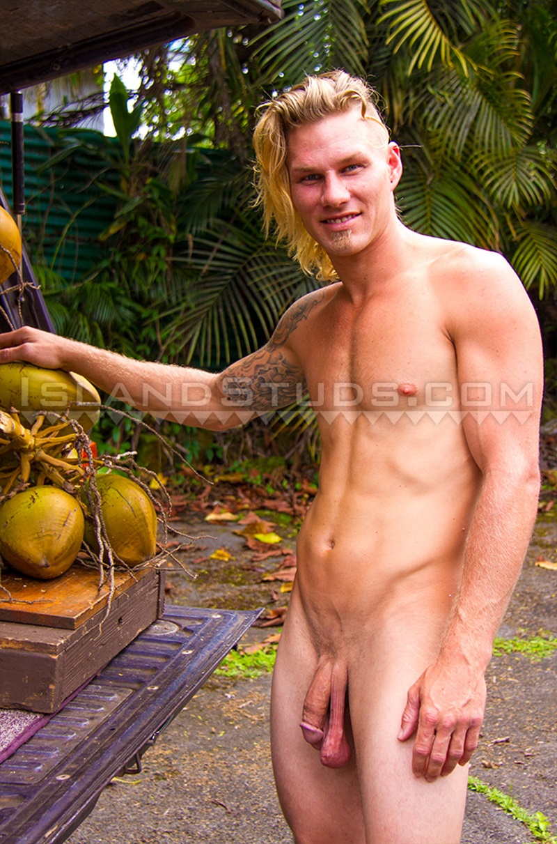 IslandStuds-Coconut-Calvin-horse-hung-jock-smooth-muscle-butt-jerks-massive-hard-cock-nude-young-men-sexy-athlete-bubble-ass-cheeks-02-gay-porn-star-sex-video-gallery-photo