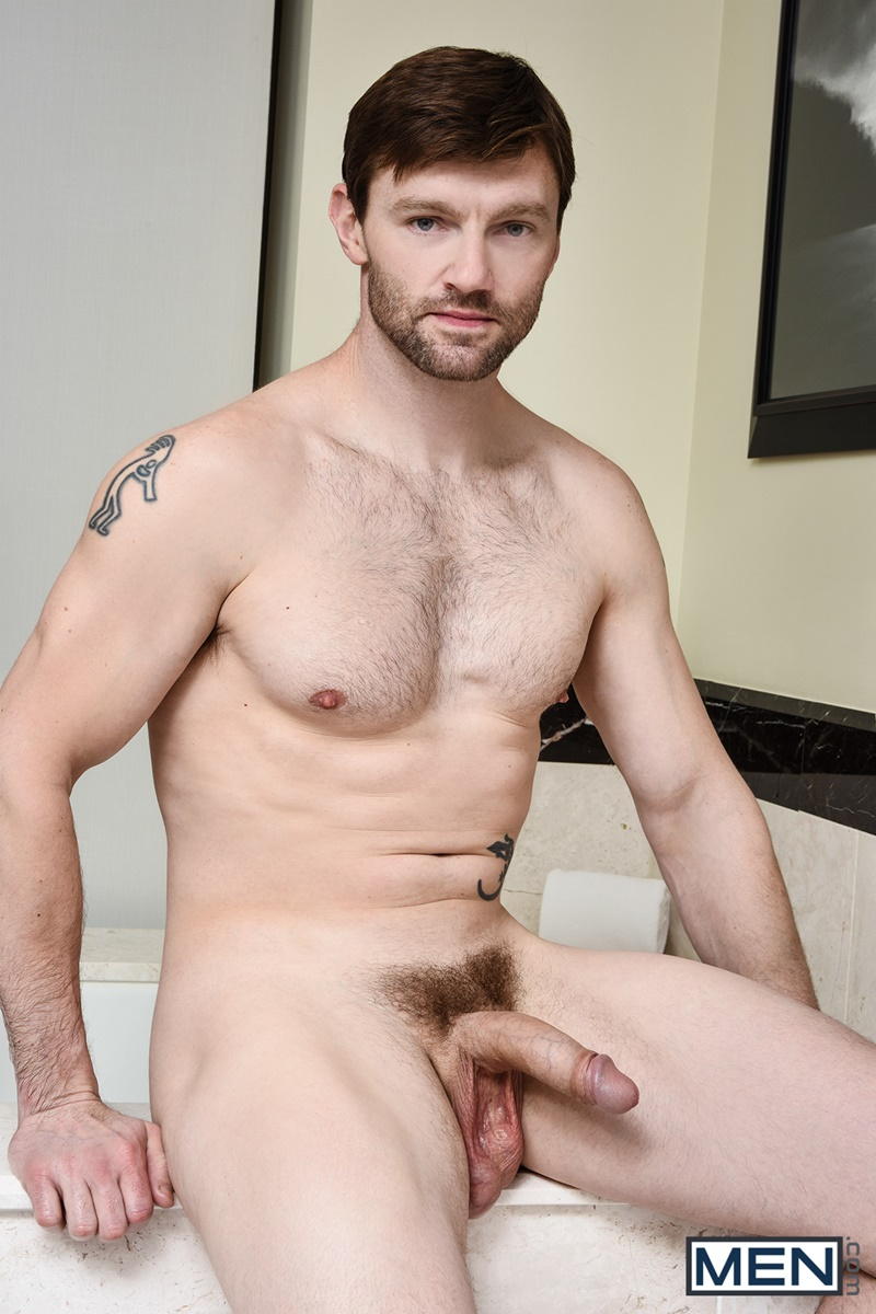 Dennis West Has His Cock Lodged Deep Inside Xander Braves -8056