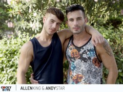 Sexy young ripped dudes Allen King fucks Andy Star