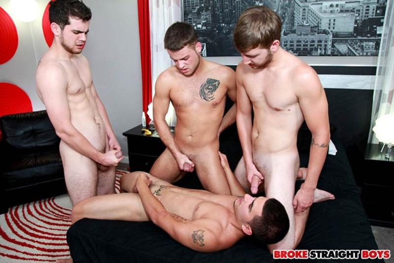 broke straight boys  Blake Savage, Brandon Beal, Zeno Kostas and Vadim Black