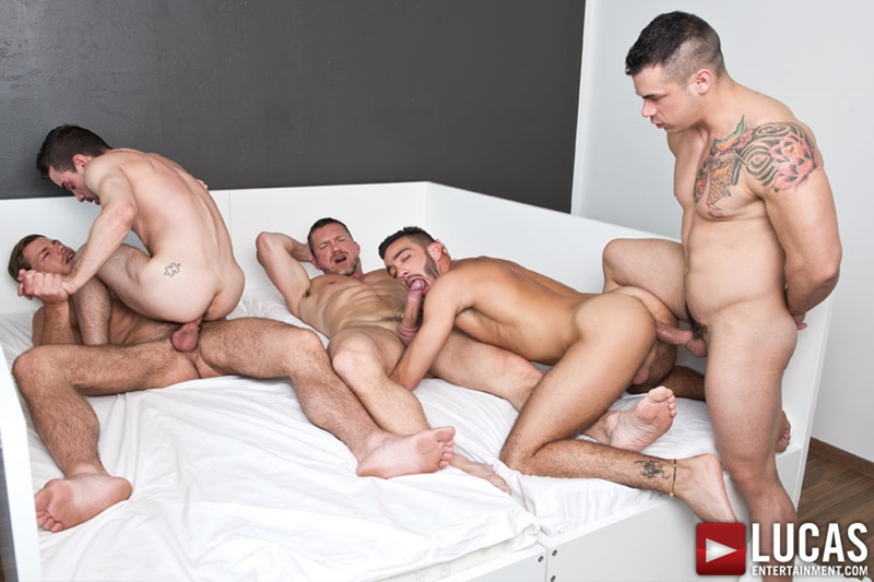 lucas entertainment  Tomas Brand, Fernando Torres, Toby Dutch, Alejandro Alvarez and Josh Milk