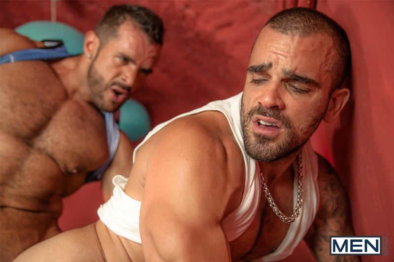 men  Damien Crosse and Denis Vega