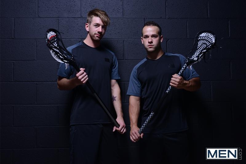 men  Sean Blue and Luke Adams