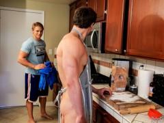 Brady Jensen fucks ass of Lance Alexander