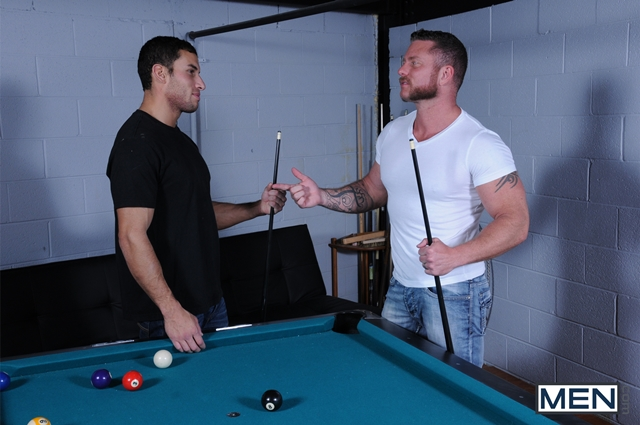 men  Charlie Harding and Ricky Decker