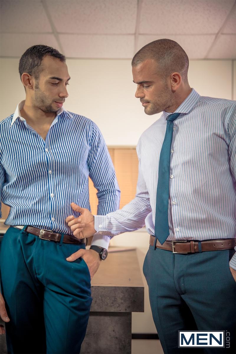 men  Damien Crosse and Juan Lopez