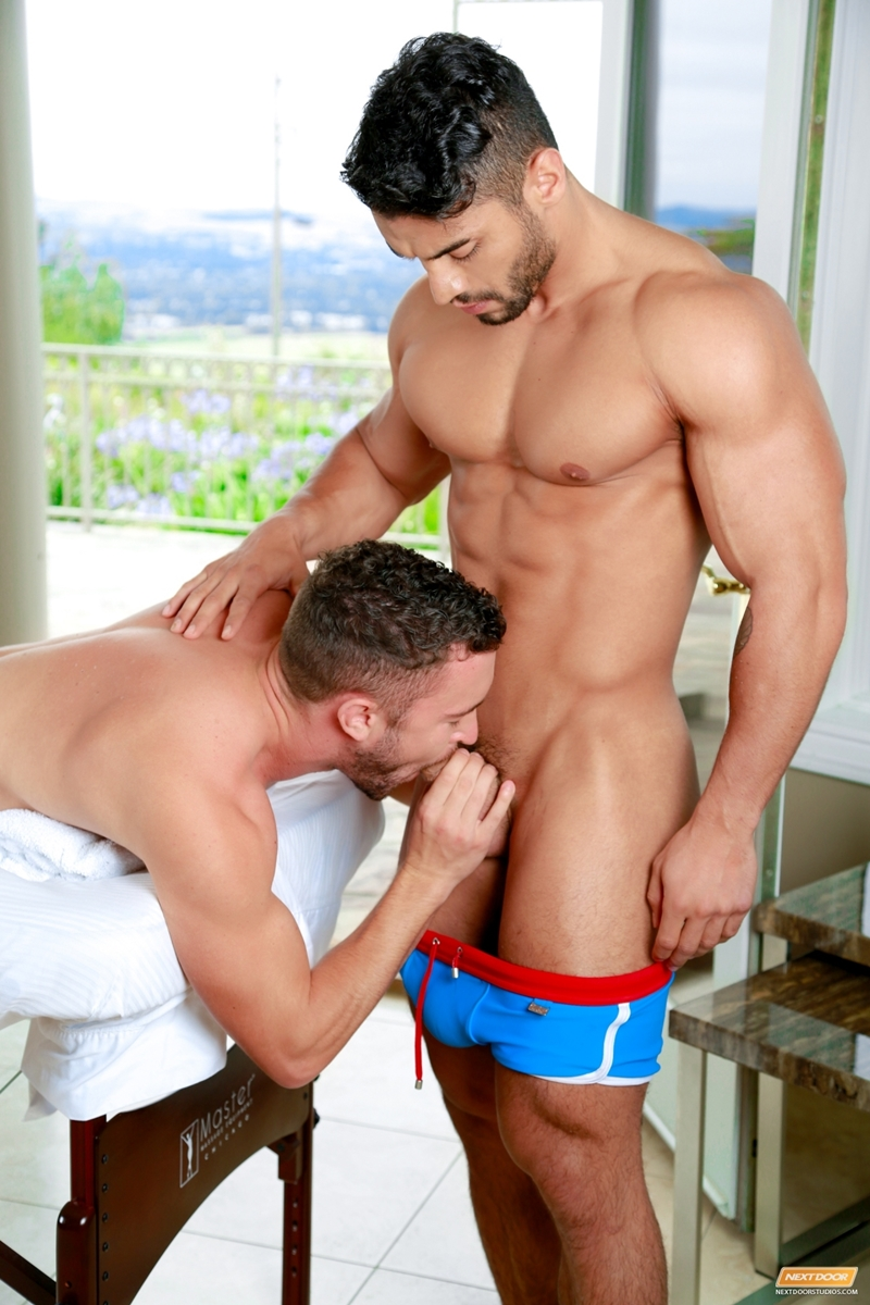 next door buddies  Colt Rivers and Arad