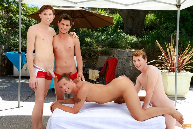 next door twink  Landon Terry, Nick B, Jake Piper and Kaiden Haskins