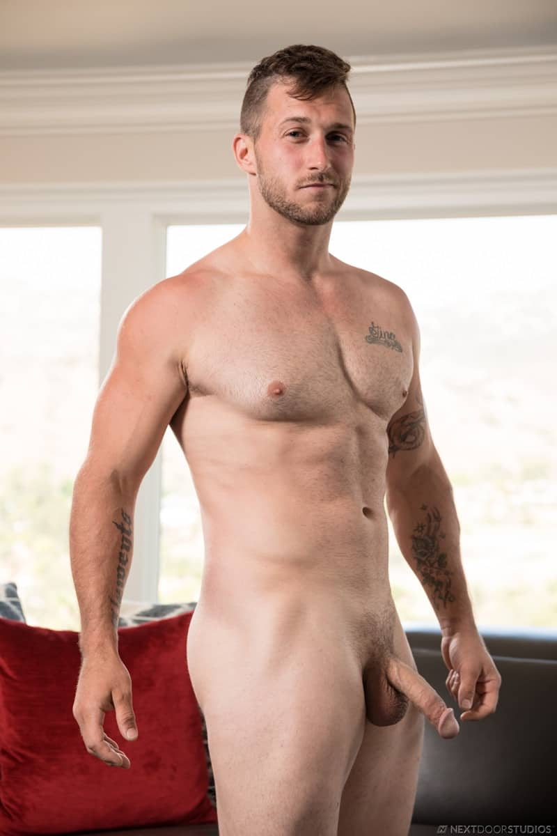Men for Men Blog Nicholas-Ryder-Johnny-Hammer-raw-ass-fucking-huge-bare-cock-NextDoorStudios-003-gay-porn-pictures-gallery Johnny Hammer slides his bareback cock deep into Nicholas Ryder' hot raw ass hole fucking him deep Next Door World
