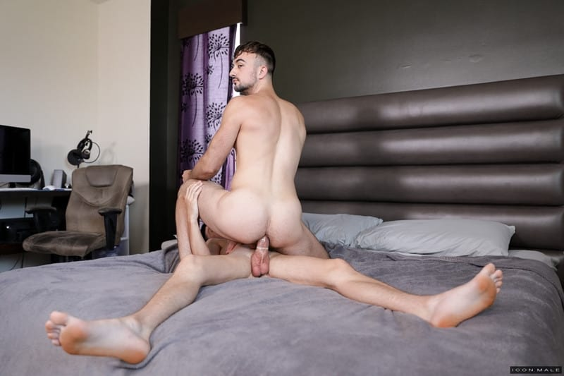 Men for Men Blog Mason-Lear-Michael-Stax-naked-sexy-body-fucking-big-dick-sucking-anal-rimming-shower-IconMale-006-gay-porn-pictures-gallery Mason Lear takes advantage of naked Michael Stax's sexy body fucking him in the shower Icon Male