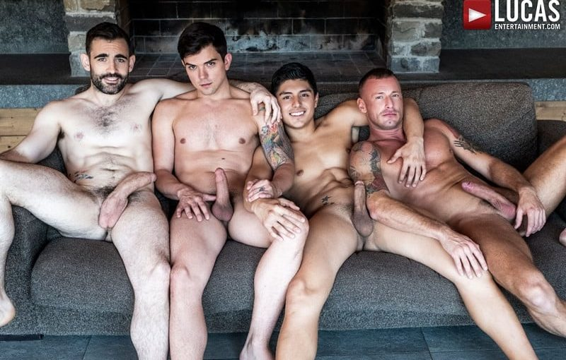 Hardcore ass fucking orgy with Dakota Payne, Ken Summers, Logan Rogue and Max Arion